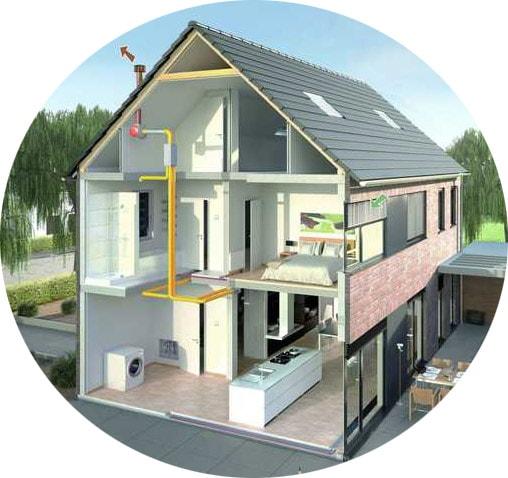Mechanische ventilatie slaapkamer • AlphaVentilatie.nl