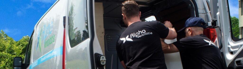 alpha ventilatie monteur