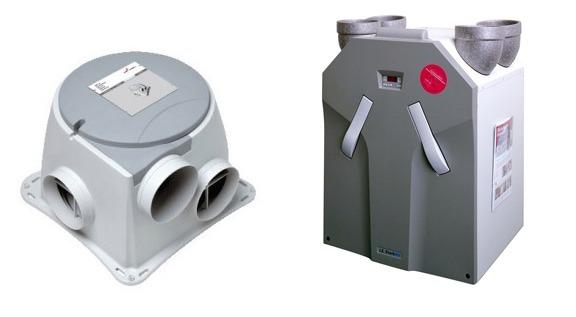 mechanische ventilatie of wtw unit