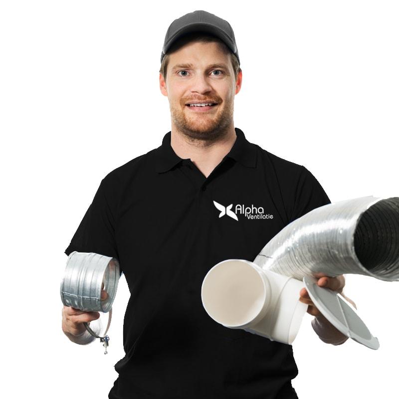 monteur alpha ventilatie