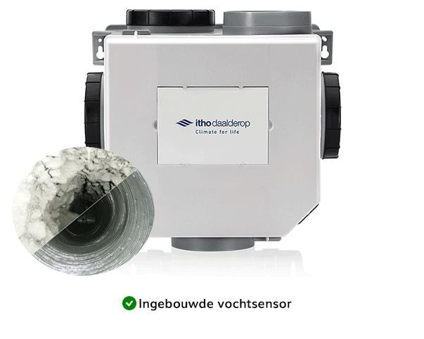 ventilatiebox vervangen en reinigen kanalen