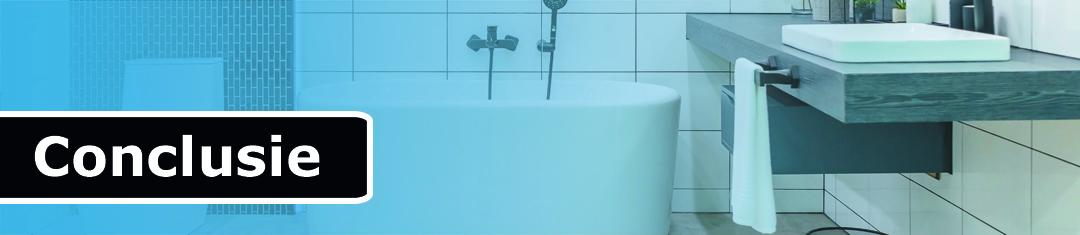 conclusie afzuiging badkamer