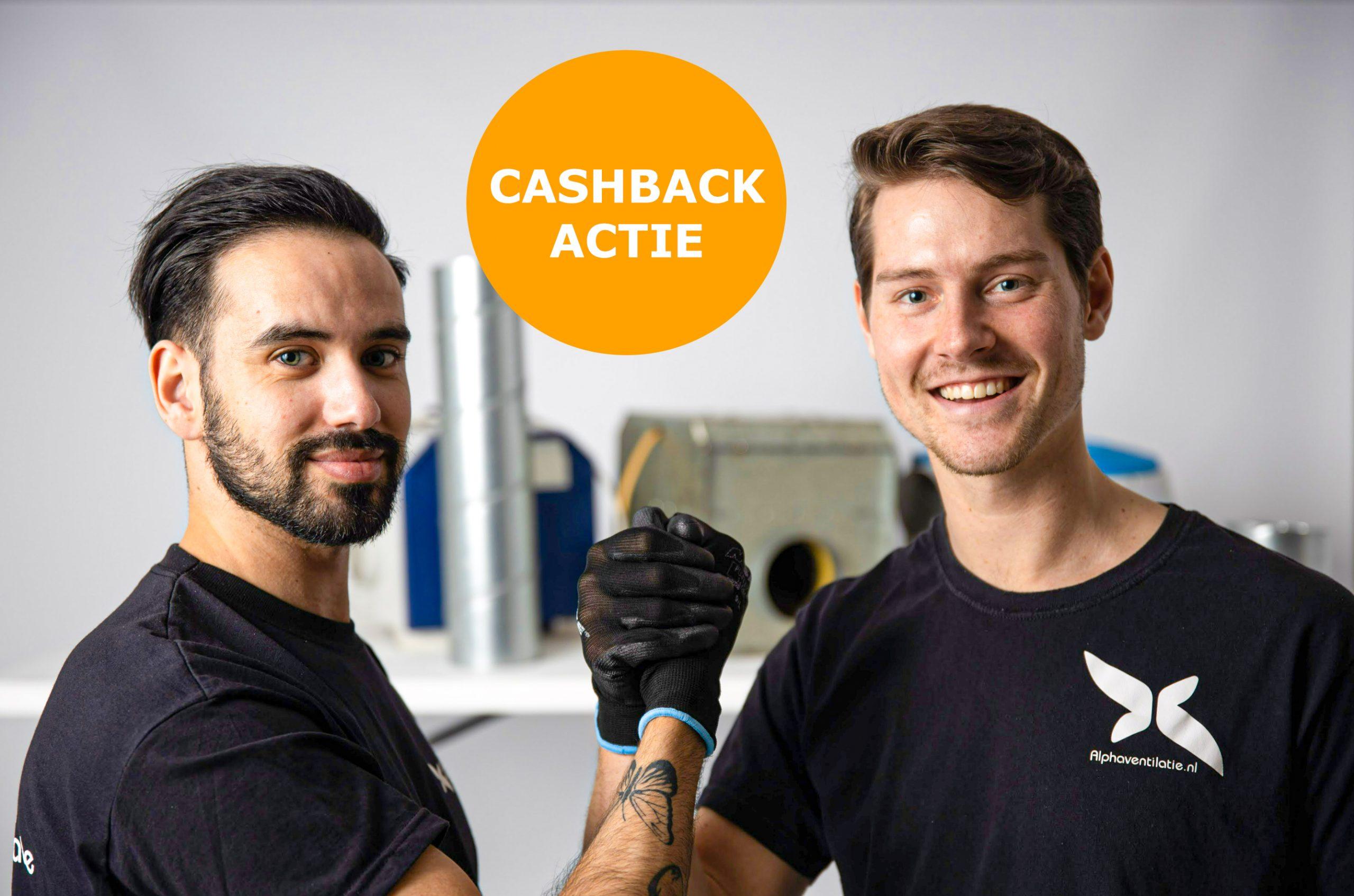 Cashback actie
