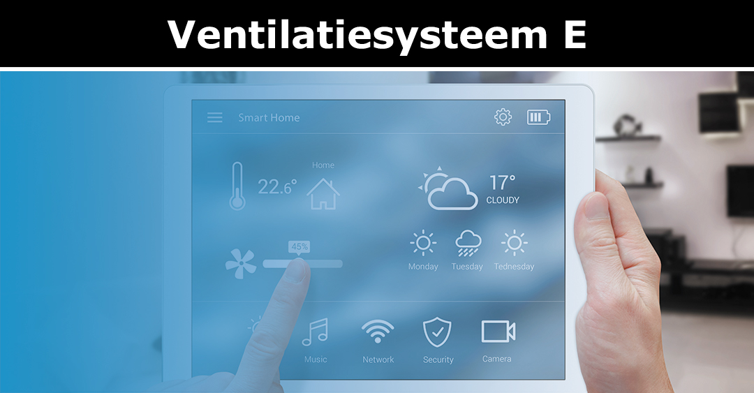 Ventilatiesysteem E
