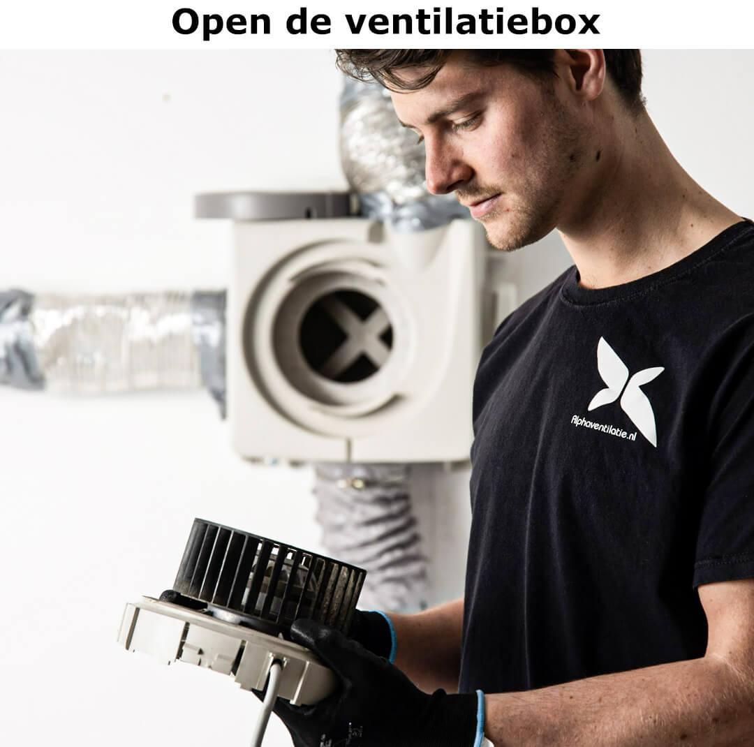 open de ventilatiebox