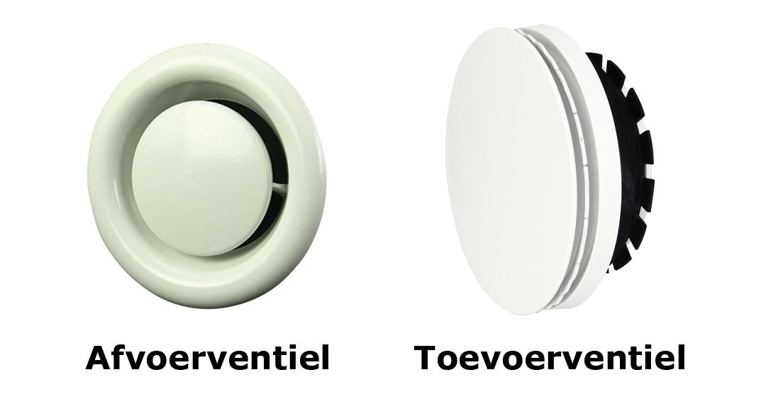 soorten ventielen