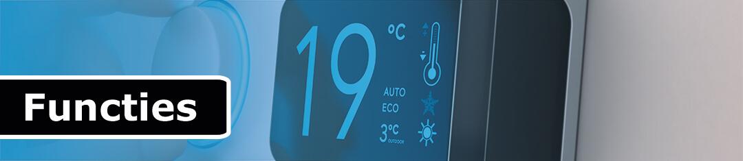 Functies slimme thermostaat