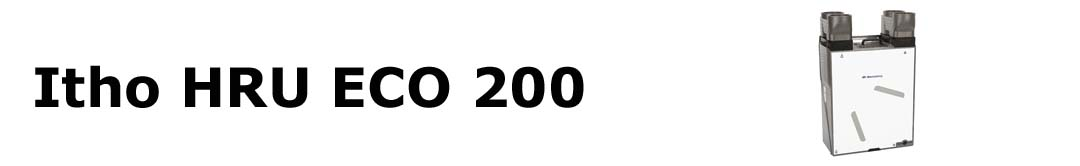 Itho HRU ECO 200