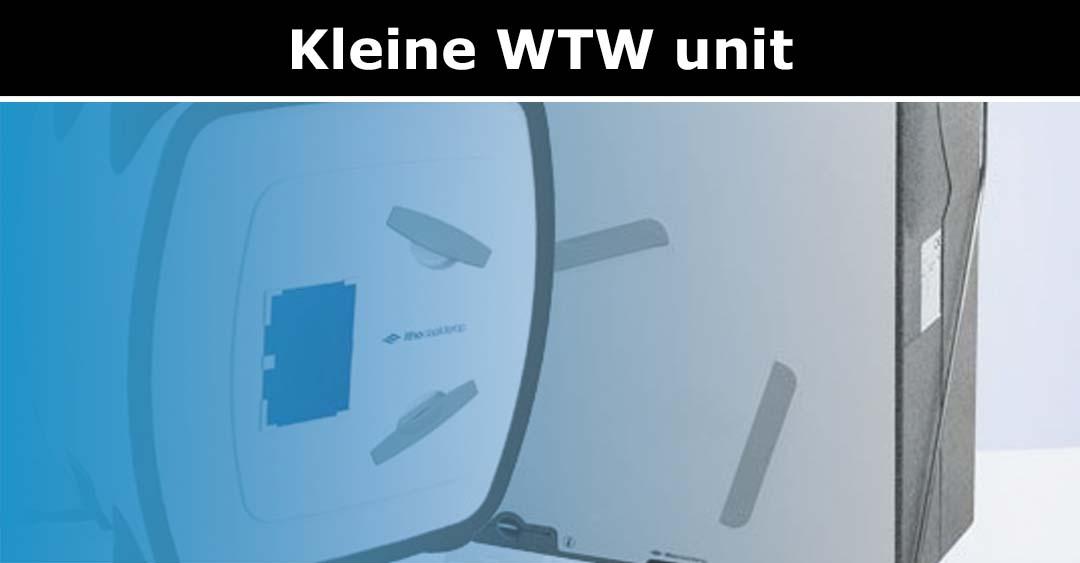 Kleine WTW unit