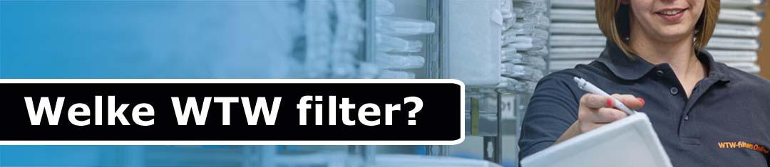 Welke wtw filter kiezen